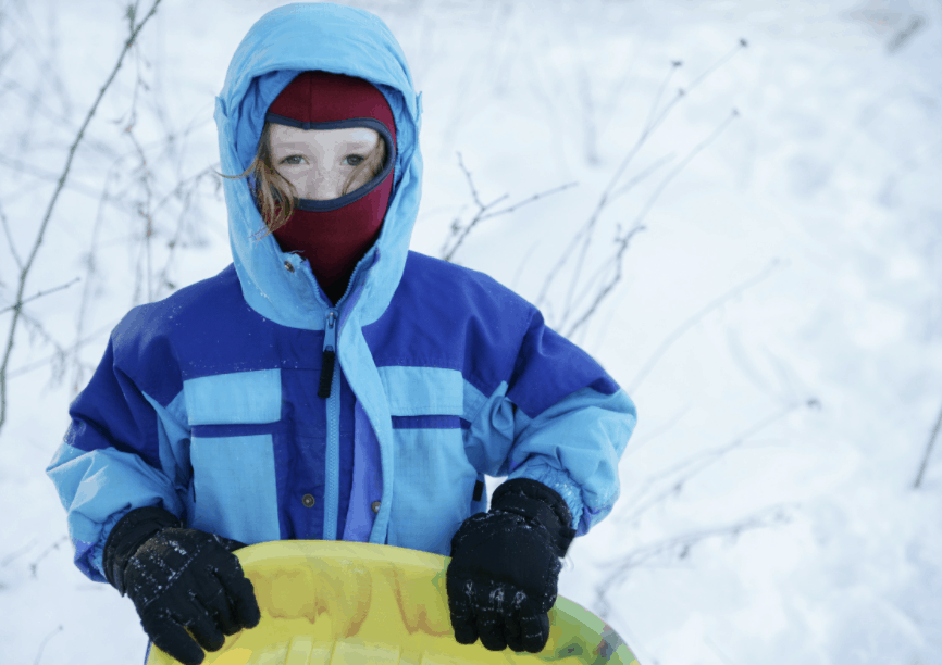 what to wear snow tubing