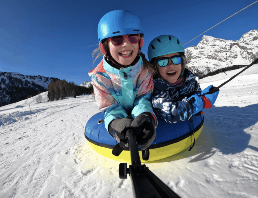 How to stay safe snow tubing