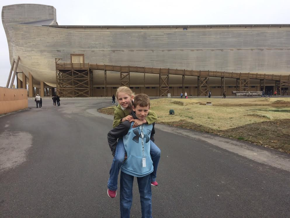 Kids at the Ark