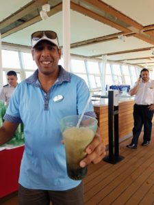 Drinks on a cruise