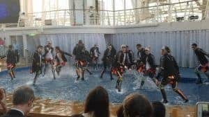 Shows on a cruise can be fantastic