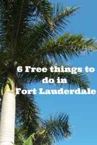 6 Free things to do in Fort Lauderdale
