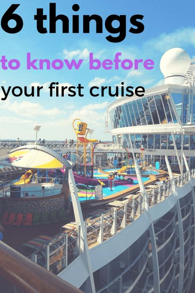 If you are headed out for your first cruise, here are 6 things to know before you go. Even the silly things that were were afraid to ask your friends!