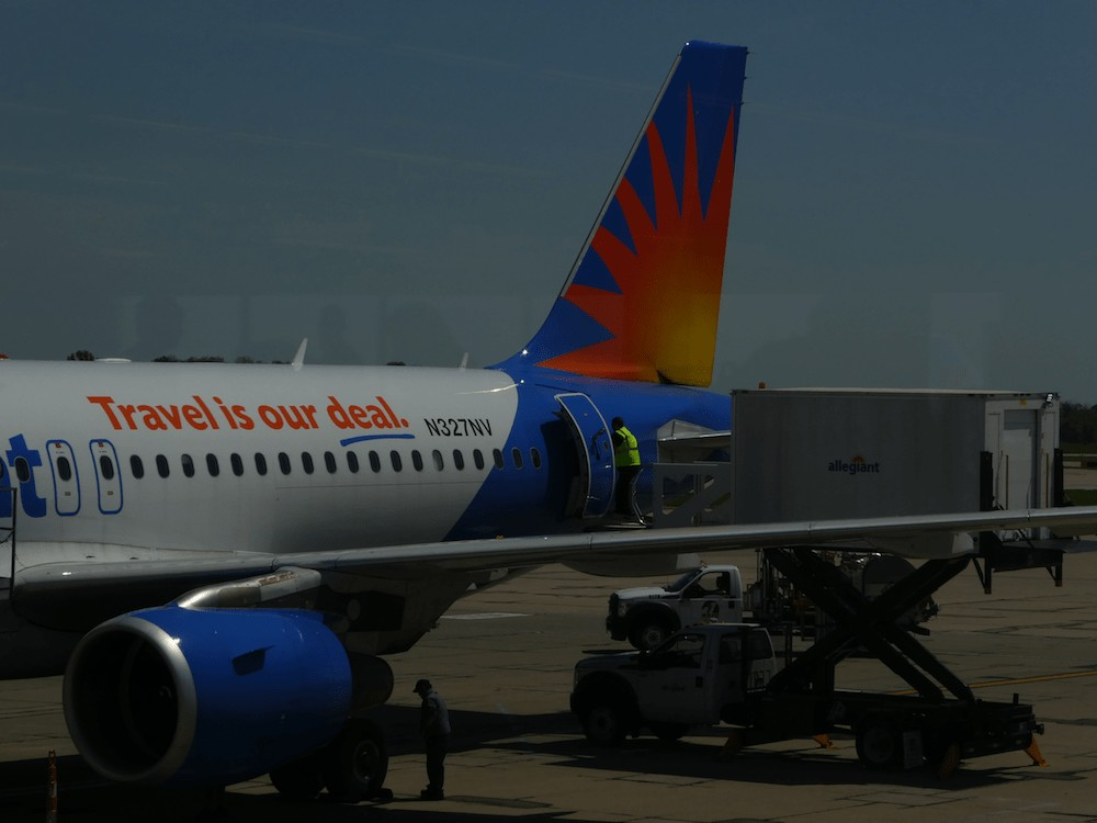 Flying with Allegiant Airlines