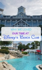 Why we loved our time at Disney's Beach Club