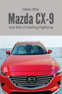 How the Mazda CX-9 Got Rid of Sibling Fighting