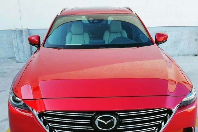 Front view Mazda CX-9