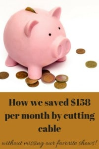 How we saved $158 per month by cutting cable without missing our favorite shows.
