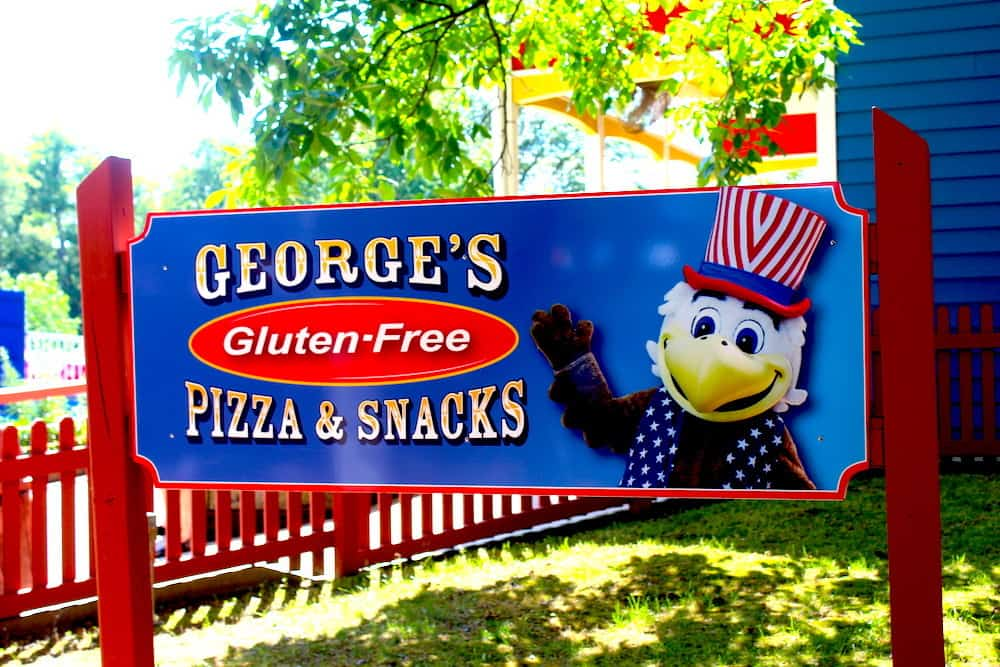 Gluten Free Options at Holiday World
