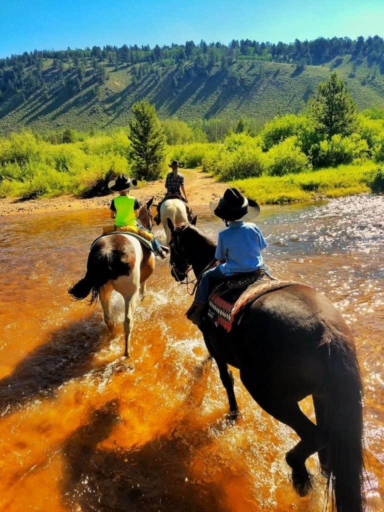 Trail Ride at Rawah Ranch