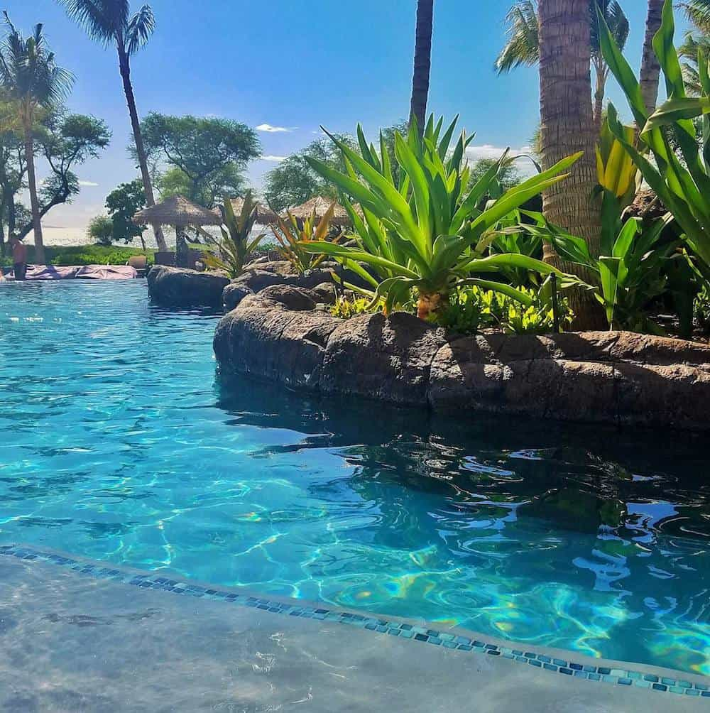 One of the pools at the Westin Nanea