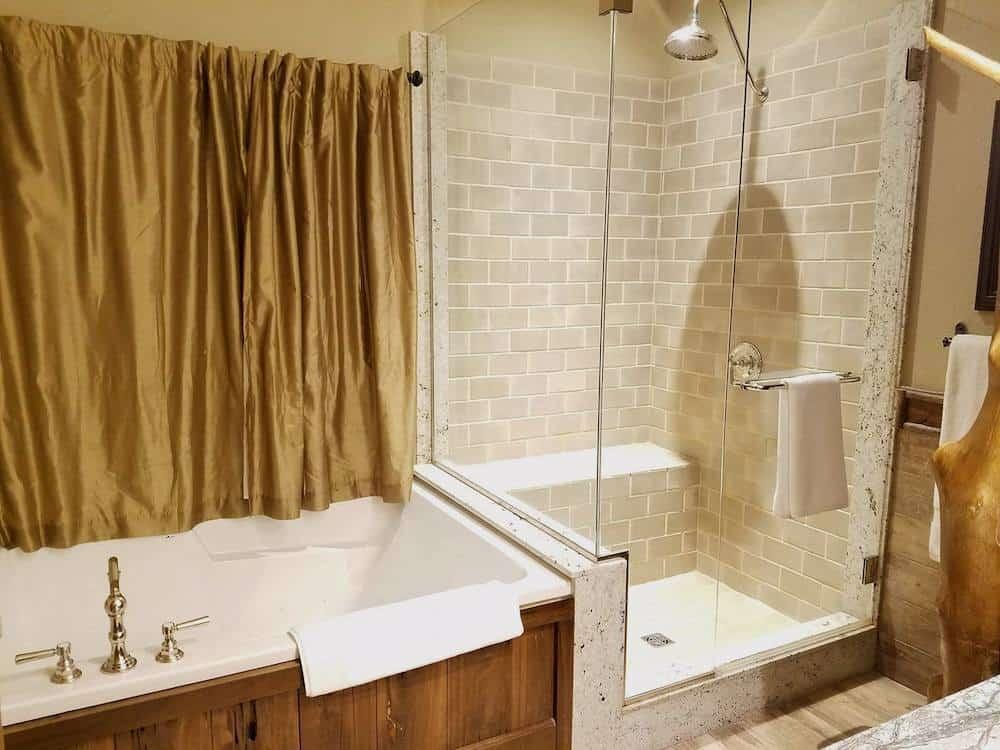 Bathroom at Big Cypress Lodge