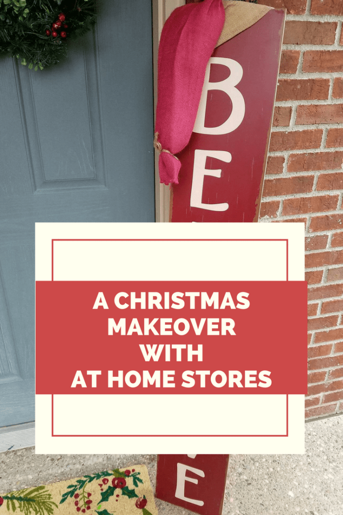 A Christmas Makeover with At Home Stores