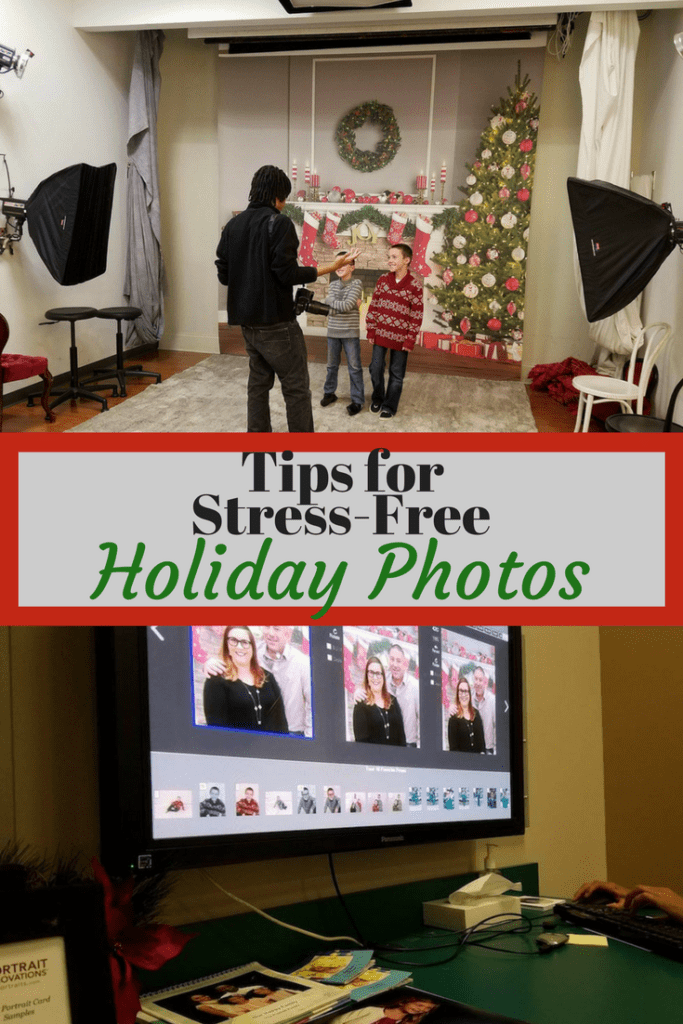 Tips for Stress free Holiday Photos with Portrait Innovations