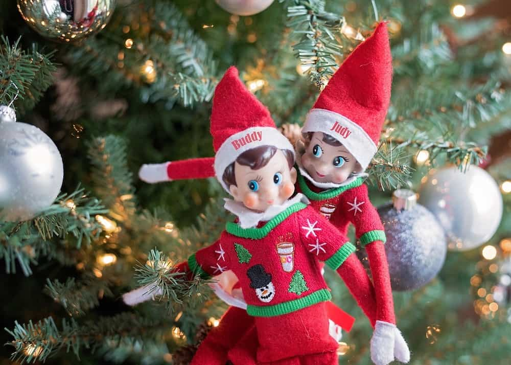 Christmas Bucket List Elf on the Shelf