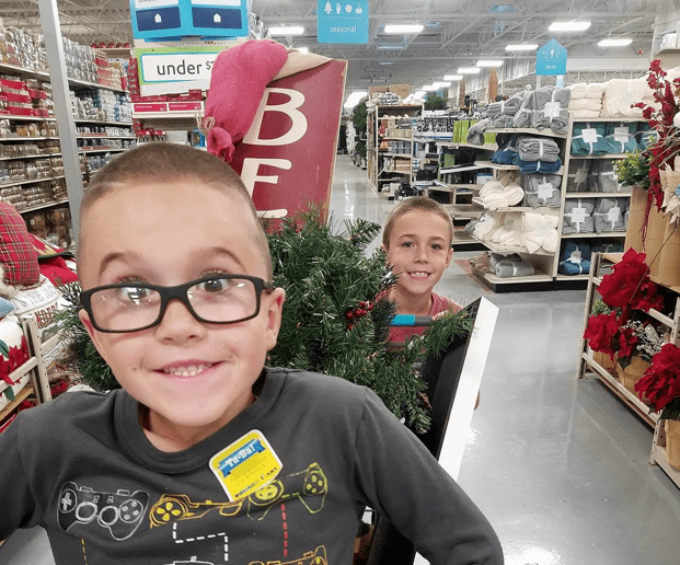 Christmas Decorating with At Home