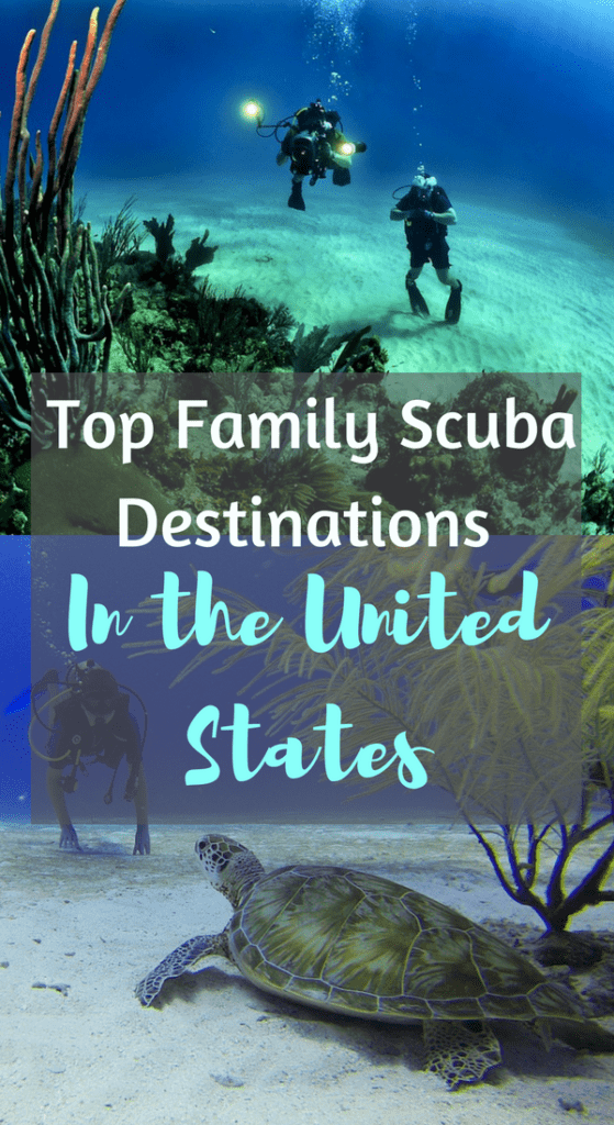 Top Family Scuba Destinations in the United States