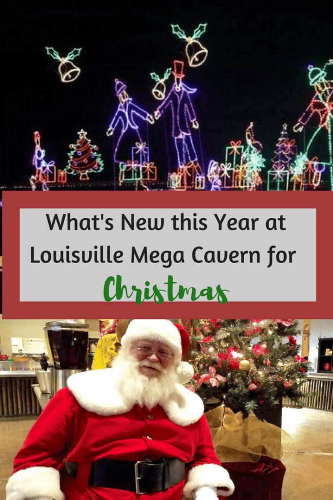 What's New this Year at Louisville Mega Cavern for Christmas