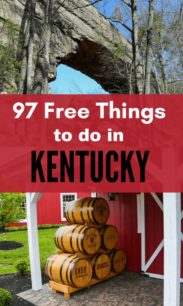 If you are headed to the Bluegrass State and looking for fun, why not look for FREE fun? Take a look at our list of 97 Free Things to do in Kentucky!