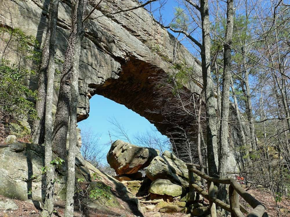Free things to do in Kentucky - Natural Bridge