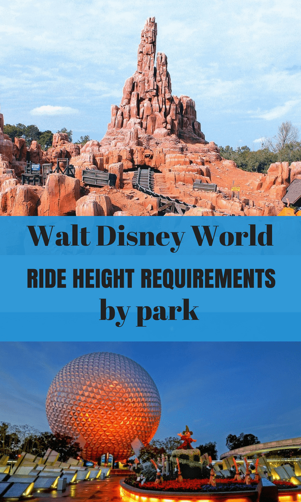 We've broken down all you need to know about Walt Disney World Ride Requirements. All you need to know to plan your Disney Vacation!