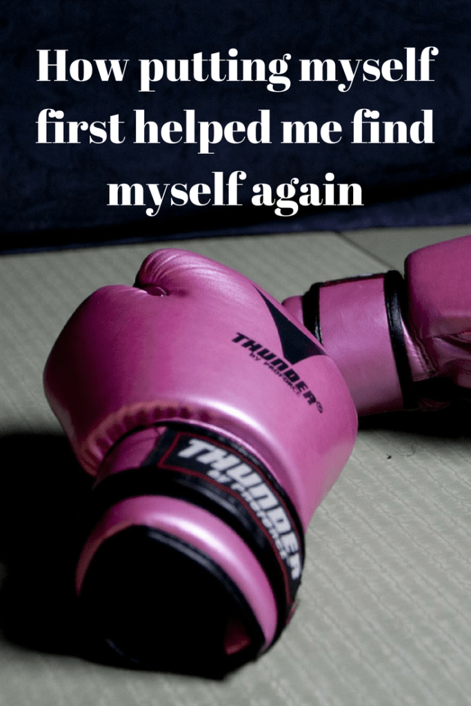 How putting myself first helped me find myself again