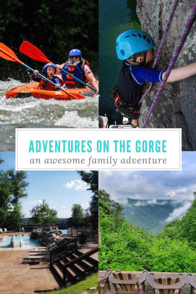 Get out of your comfort zone with a family adventure at Adventures on the Gorge in West Virginia. #westvirginia #familytravel #trip #travelwithkids #adventurevacation