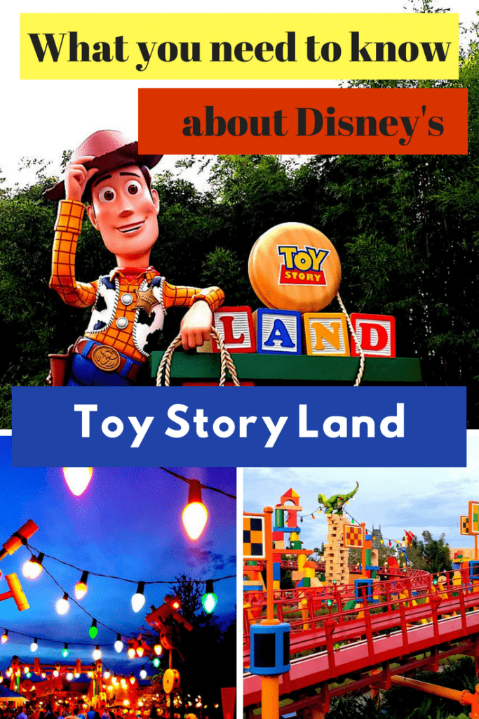 Want to know more about Toy Story Land at Hollywood Studios? We have the scoop on Buzz, Woody and the rest of the gang. Find out about the rides and food in Toy Story Land. #slinkydogdash #hollywoodstudios #waltdisneyworld #alienswirlingsaucers #toystorymania #toystoryland