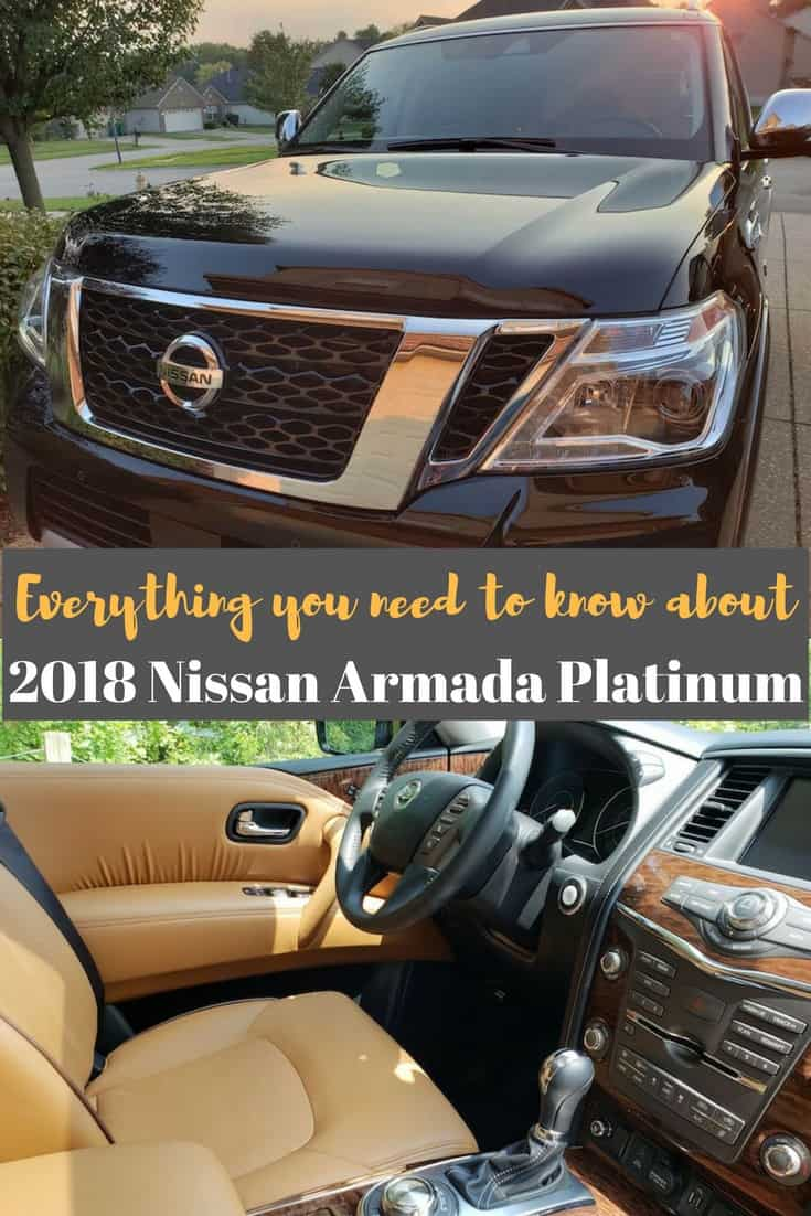 Everything you need to know about the 2018 Nissan Armada Platinum