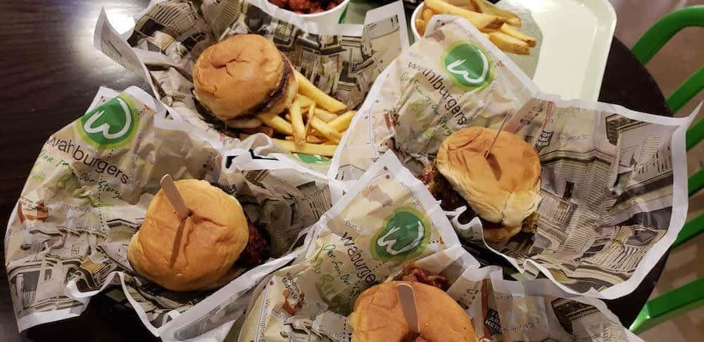 Food at Walhburgers