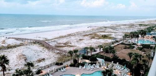 Pools at the Beach Club in Gulf Shores Alabama