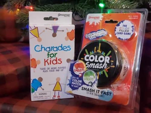Charades for Kids and Color Smash