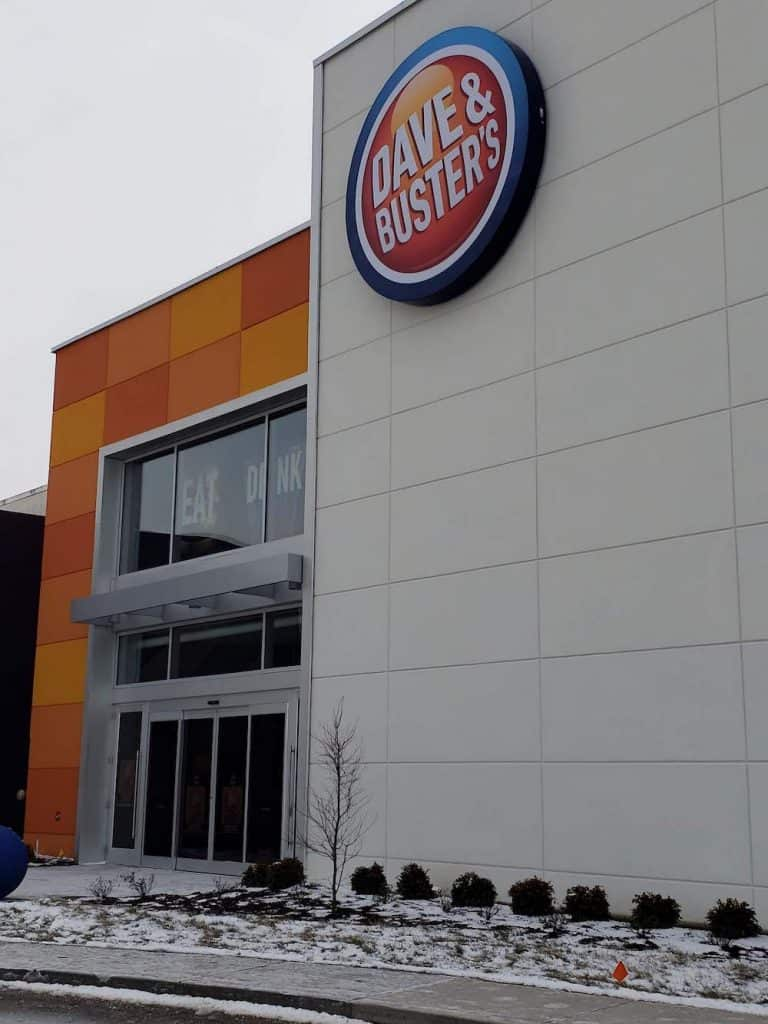 It shouldn't surprise you to find Dave and Buster's at a Mall