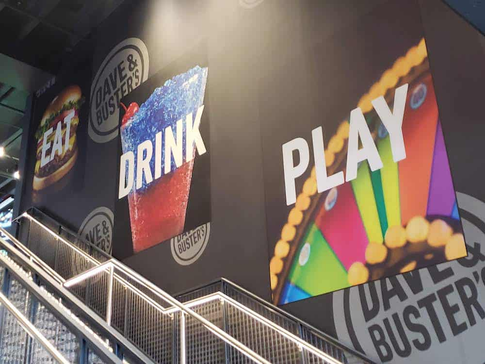 Have grown up fun at Dave and Buster's