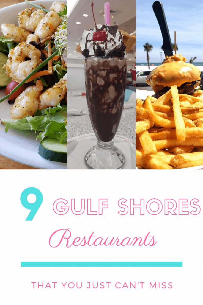 When you head to the Alabama Gulf Coast and just can't decide where to eat while you are exploring Gulf Shores and Orange beach, make sure you have these restaurants at the very top of your list!  #alabama #gulfshores #orangebeach #food #gulfshoresrestaurants