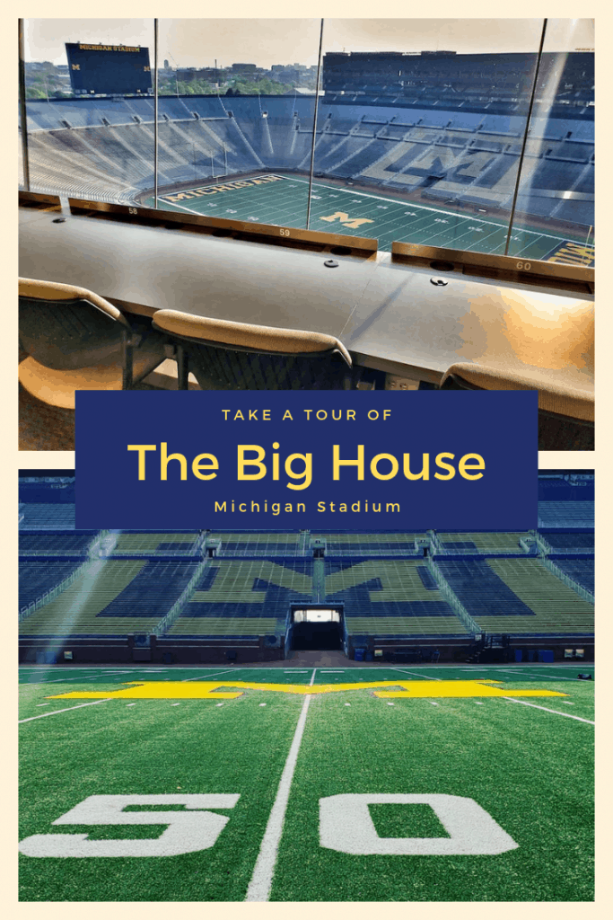 Ever wanted to stand on the 50 yard line of Michigan Stadium? You totally can do just that during a tour of The Big House. Get all the details here!