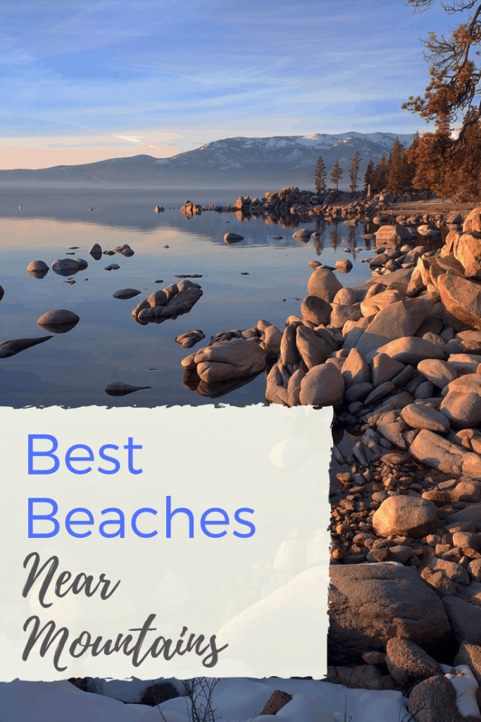 Finding beaches near mountains is something you can't find everywhere. But, when you do find it, you are in for a heavenly experience. Take a look at our picks for a happy medium vacation. #beach #mountains #familyvacation