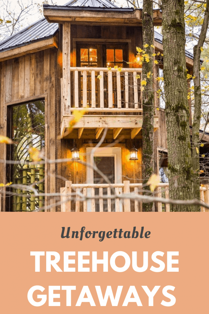 Thinking of doing something unique for your family vacation? A treehouse vacation is a perfect balance of adventure, unique and getting in touch with nature all in one package. #familytravel #outdoors #treehousevacation