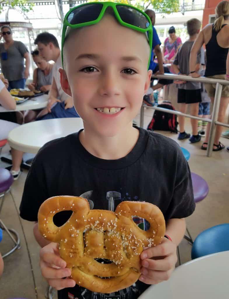 Best Snacks in Walt Disney World: Mickey Pretzel
