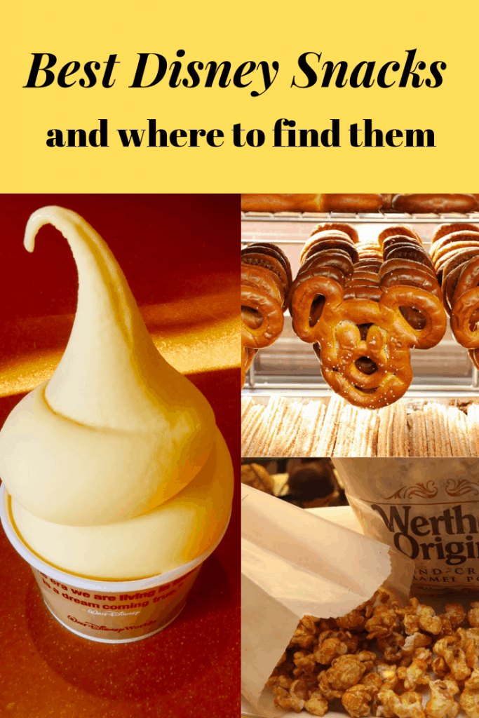 Going on a hunt for the best snack in Disney World can be just as much fun as taking on the rides! Take a look at some of our favorite snacks found in Walt Disney World...and where to find them! #waltdisneyworld #disneyfood #disney
