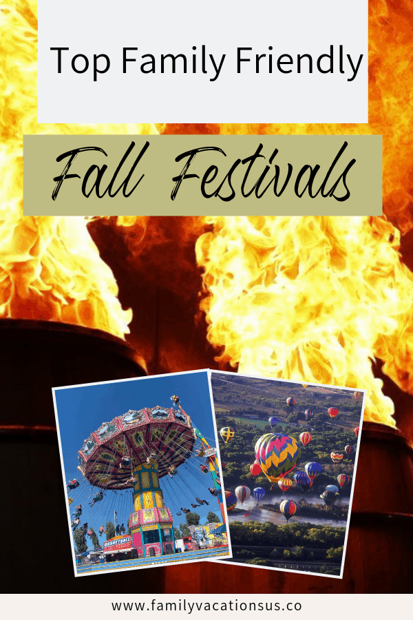 Fall is such a family friendly time of year. We've listed a ton of fall festivals that everyone in your family will love.  #fall #fallfestivals #familyfun