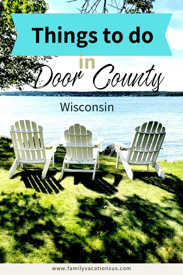 Wondering what there is to do in Door County Wisconsin? Wonder no more. There are so many fun things to do with kids.  #thingstodoindoorcounty #doorcountywithkids #lakemichigan