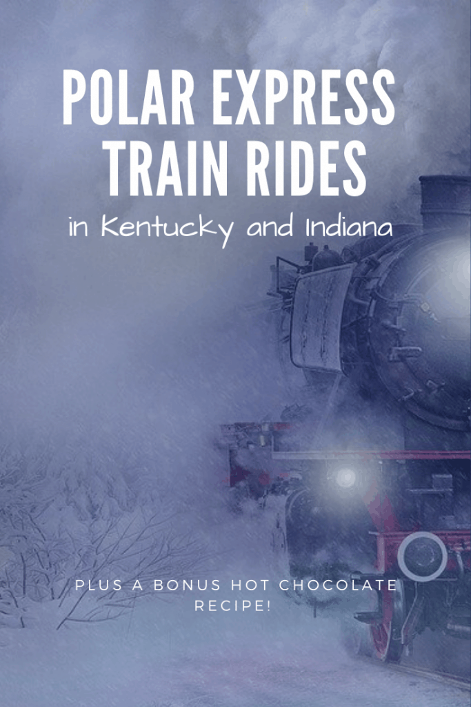 The Beloved Christmas Book, The Polar Express comes alive with a train ride that you and your family can really go on. Take a look at these Polar Express Experiences in Kentucky and Indiana. #polarexpress #christmas #familychristmas
