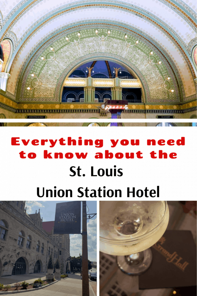Headed to St. Louis? Make sure you make a stop to see the St. Louis Union Station Hotel. This grand hotel offers so much do to and see! It is a complete visual experience located in the heart of St. Louis!