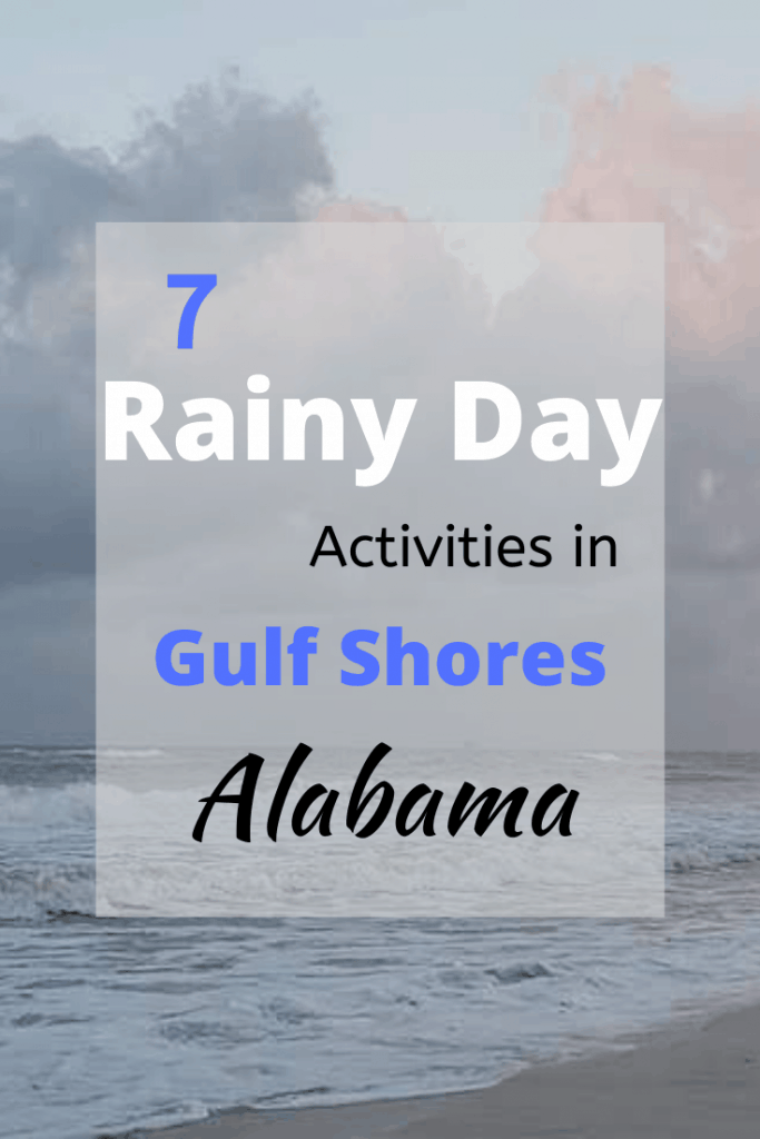 No one likes a rainy day at the beach, but there is lots of fun indoor activities in Gulf Shores. Check out our suggestions for things to do when it rains in Gulf Shores