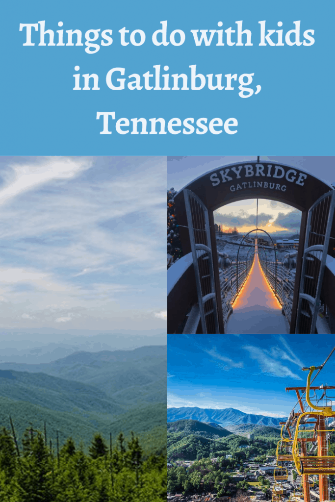 Headed to the Gatlinburg area of the Smoky Mountains? We have ideas for what to do with kids while you are exploring the area!