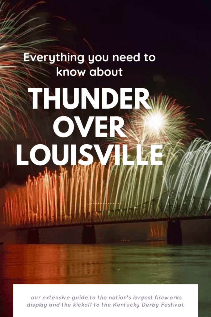 Headed to Thunder over Louisville and not sure what to expect? We've covered everything from where to park, what to bring and where to go to be able to use indoor restrooms!