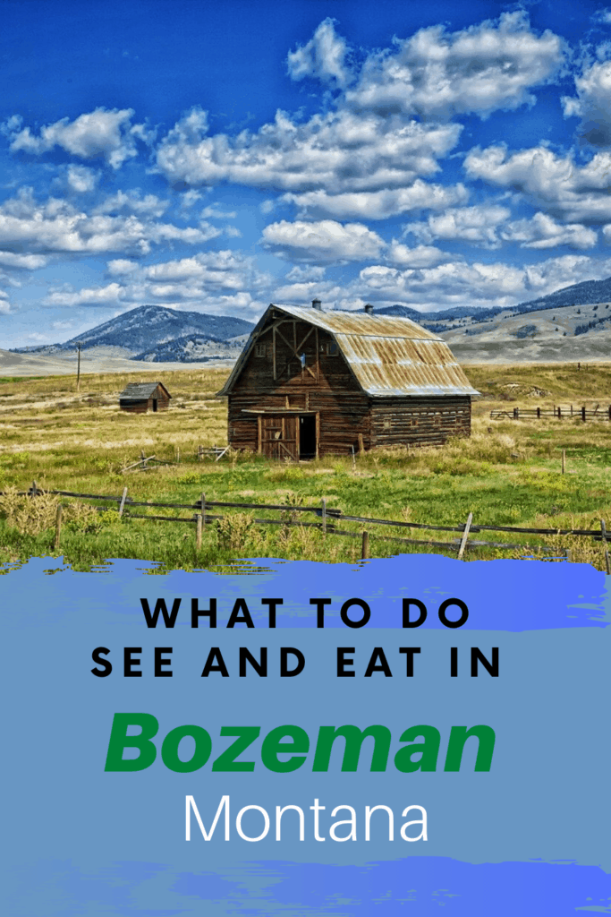If you are headed to the Yellowstone area. Take a look at what to see, do, where to stay and what to eat in Bozeman Montana.