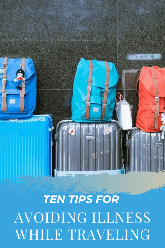 If you are looking for ways to stay healthy while traveling then check out these Ten Tips for avoiding illness while traveling.