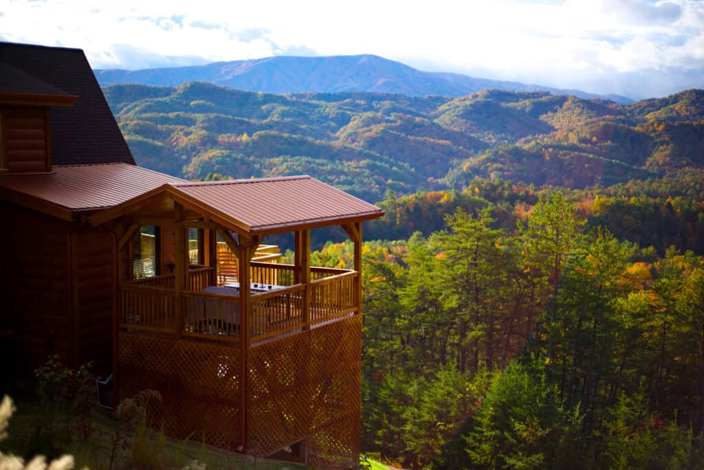 Booking a Cabin with the Smoky Mountains